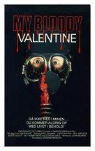 My Bloody Valentine - Danish VHS movie cover (xs thumbnail)