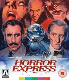Horror Express - British Blu-Ray movie cover (xs thumbnail)