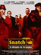 Snatch - French Movie Poster (xs thumbnail)
