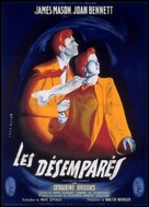 The Reckless Moment - French Movie Poster (xs thumbnail)