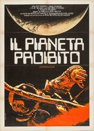 Forbidden Planet - Italian Re-release poster (xs thumbnail)