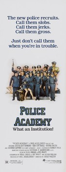 Police Academy - Theatrical movie poster (xs thumbnail)