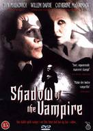 Shadow of the Vampire - Danish DVD cover (xs thumbnail)