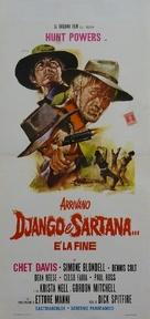 Arrivano Django e Sartana... è la fine - Italian Movie Poster (xs thumbnail)