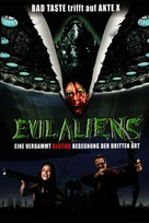 Evil Aliens - German Movie Cover (xs thumbnail)