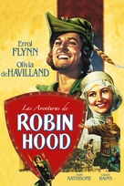 The Adventures of Robin Hood - Mexican DVD movie cover (xs thumbnail)