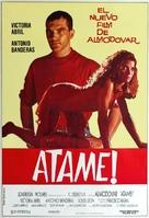 ¡Átame! - Argentinian Movie Poster (xs thumbnail)