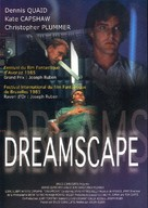 Dreamscape - French DVD cover (xs thumbnail)