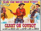 Carry on Cowboy - British Movie Poster (xs thumbnail)