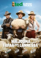 A Million Ways to Die in the West - Finnish Movie Poster (xs thumbnail)