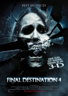 The Final Destination - German Movie Poster (xs thumbnail)