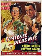 The Barefoot Contessa - Belgian Movie Poster (xs thumbnail)