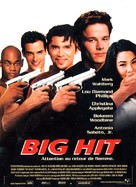 The Big Hit - French Movie Poster (xs thumbnail)