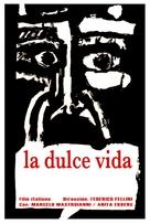 La dolce vita - Cuban Movie Poster (xs thumbnail)