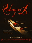 Immortal Beloved - French Movie Poster (xs thumbnail)