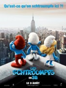 The Smurfs - French Movie Poster (xs thumbnail)