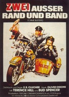 I due superpiedi quasi piatti - German Movie Poster (xs thumbnail)