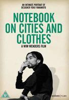Aufzeichnungen zu Kleidern und Städten - British DVD cover (xs thumbnail)