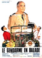 Le gendarme en balade - French Movie Poster (xs thumbnail)