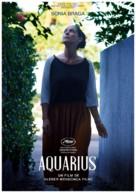 Aquarius - French Movie Poster (xs thumbnail)