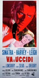 The Manchurian Candidate - Italian Movie Poster (xs thumbnail)