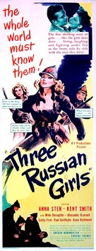 Three Russian Girls - Movie Poster (xs thumbnail)