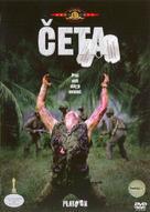 Platoon - Czech DVD cover (xs thumbnail)