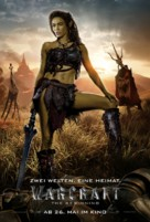 Warcraft - German Movie Poster (xs thumbnail)