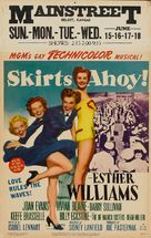 Skirts Ahoy! - Movie Poster (xs thumbnail)