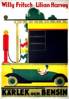 Die drei von der Tankstelle - Swedish Movie Poster (xs thumbnail)