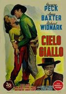 Yellow Sky - Italian Movie Poster (xs thumbnail)