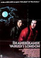 An American Werewolf in London - Swedish Movie Poster (xs thumbnail)