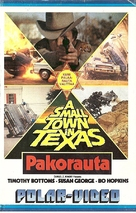 A Small Town in Texas - Finnish VHS movie cover (xs thumbnail)