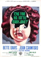What Ever Happened to Baby Jane? - Italian Theatrical movie poster (xs thumbnail)