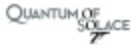 Quantum of Solace - Logo (xs thumbnail)