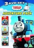 """Thomas the Tank Engine & Friends"" - British DVD movie cover (xs thumbnail)"