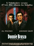 Donnie Brasco - French Movie Poster (xs thumbnail)