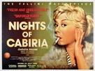 Le notti di Cabiria - British Movie Poster (xs thumbnail)