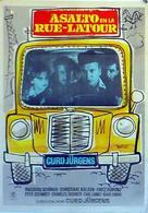 Bankraub in der Rue Latour - Spanish Movie Poster (xs thumbnail)