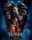Venom: Let There Be Carnage - French Movie Poster (xs thumbnail)