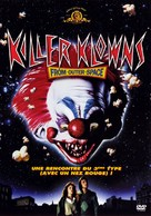 Killer Klowns from Outer Space - French DVD cover (xs thumbnail)