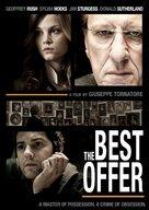 La migliore offerta - DVD movie cover (xs thumbnail)