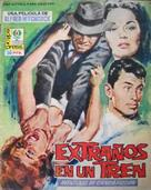 Strangers on a Train - Spanish poster (xs thumbnail)