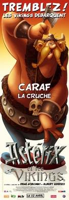 Astèrix et les Vikings - French Movie Poster (xs thumbnail)