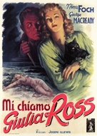 My Name Is Julia Ross - Italian Theatrical movie poster (xs thumbnail)