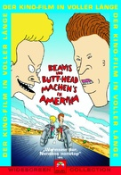 Beavis and Butt-Head Do America - German DVD movie cover (xs thumbnail)