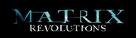 The Matrix Revolutions - Brazilian Logo (xs thumbnail)