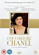 Coco avant Chanel - British Movie Cover (xs thumbnail)