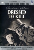 Dressed to Kill - DVD cover (xs thumbnail)
