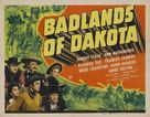 Badlands of Dakota - Movie Poster (xs thumbnail)